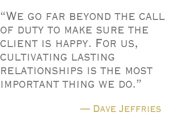 Dave Jeffries Quote